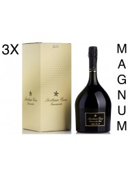 (3 BOTTLES) Derbusco Cives - Brut Doppio Erre Di - Magnum - Franciacorta - 150cl