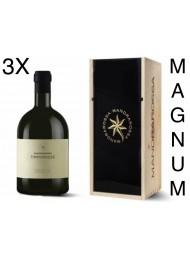 (3 BOTTLES) Mandrarossa - Timperosse 2019 - Petit Verdot - Magnum - Gift Box - 150cl