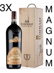 (3 BOTTLES) Tommasi - Amarone 2015 - Magnum - Amarone della Valpolicella Classico DOCG - Gift Box - 150cl