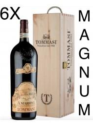 (6 BOTTLES) Tommasi - Amarone 2015 - Magnum - Amarone della Valpolicella Classico DOCG - Gift Box - 150cl