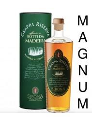 Sibona Magnum 1,5 lt - Grappa Riserva - Affinata in Botti da Madeira - 150cl