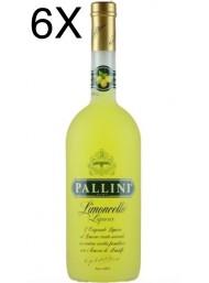 (6 BOTTIGLIE) Pallini - Limoncello - 100cl - 1 Litro