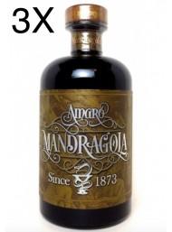 (3 BOTTLES) - Amaro Mandragola - 50cl