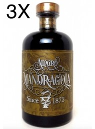 (3 BOTTIGLIE) - Amaro Mandragola - 50cl