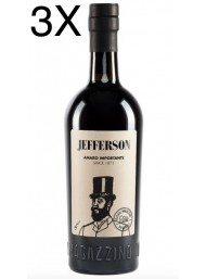 (3 BOTTLES) Amaro Importante Jefferson - Amaro - 70cl