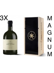 (3 BOTTIGLIE) Mandrarossa - Sauvignon Blanc 2018 - Urra di Mare Magnum - Astucciato - 150cl
