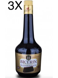 (3 BOTTLES) Vincenzi - Bicerin - Hazelnuts and chocolate liquor - 70cl