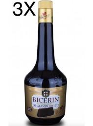 (3 BOTTIGLIE) Vincenzi - Bicerin - Liquore al Gianduiotto - 70cl
