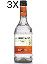 (3 BOTTLES) Hurricane - Triple Sec - 70cl