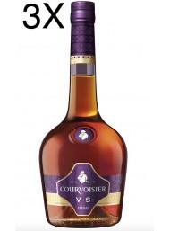(3 BOTTIGLIE) Courvoisier - V.S - Cognac - 70cl