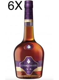 (6 BOTTLES) Courvoisier - V.S - Cognac - 70cl