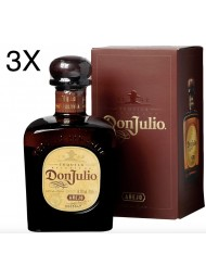 (3 BOTTLES) Don Julio - Anejo - Reserva - 70cl