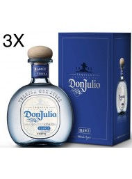 (3 BOTTLES) Don Julio - Tequila Blanco - 70cl