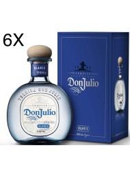 (6 BOTTIGLIE) Don Julio - Tequila Blanco - 70cl - Astucciato