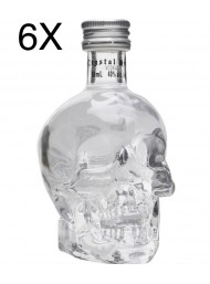 (6 BOTTIGLIE) Vodka Crystal Head Mignon - 50ml
