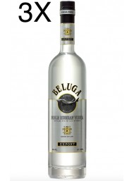 (3 BOTTIGLIE) Beluga - Noble Russian Vodka - 70cl