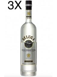 (3 BOTTIGLIE) Beluga - Noble Russian Vodka - 70cl