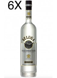 (6 BOTTIGLIE) Beluga - Noble Russian Vodka - 70cl