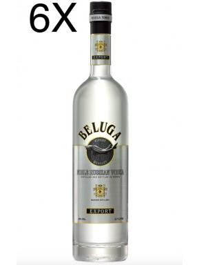 (6 BOTTLES) Beluga - Noble Russian Vodka - 70cl