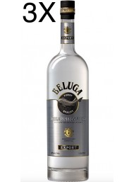 (3 BOTTIGLIE) Beluga - Noble Russian Vodka - 100cl