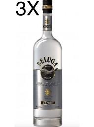 (3 BOTTIGLIE) Beluga - Noble Russian Vodka - 100cl
