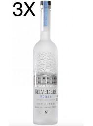 (3 BOTTIGLIE) Belvedere - Vodka - 70cl