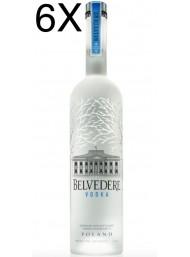 (6 BOTTIGLIE) Belvedere - Vodka - 100cl - 1 litro