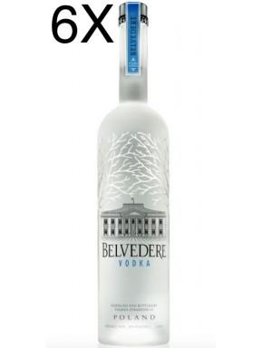 (6 BOTTLES) Belvedere - Vodka - 100cl