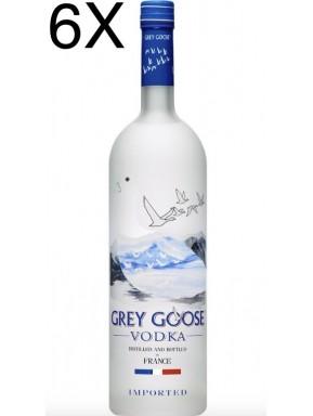 (6 BOTTLES) Grey Goose Vodka - 100cl