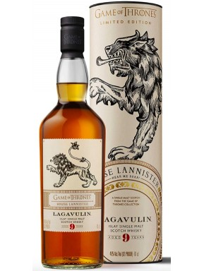 Lagavulin - Lannister - 8 Years Old - Whisky Single Malt - Limited Edition - Game of Throne - 70cl