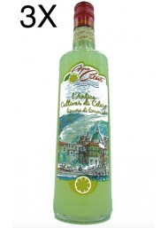 (3 BOTTLES) Limoncino - L'Antico Sfusato Amalfitano - Lemon Liquor - Agrocetus - 70cl