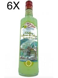 (6 BOTTLES) Limoncino - L'Antico Sfusato Amalfitano - Lemon Liquor - Agrocetus - 70cl