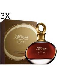(3 BOTTLES) Zacapa Royal - Solera Gran Reserva Especial - Centenario - 70cl