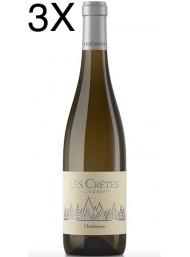 (3 BOTTIGLIE) Les Cretes - Chardonnay 2019 - Valle d'Aosta DOP - 75cl