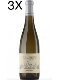 (3 BOTTIGLIE) Les Cretes - Petite Arvine 2019 - Valle d'Aosta DOP - 75cl