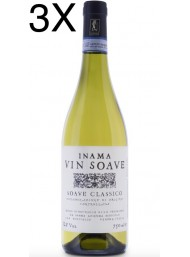 (3 BOTTLES) Inama - Vin Soave 2019 - Soave Classico DOC - 75cl