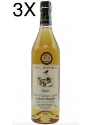 (3 BOTTLES) Francois Peyrot - Cognac alle Pere Williams - 70cl