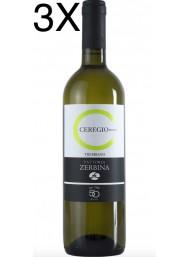 (3 BOTTIGLIE) Fattoria Zerbina - Ceregio Bianco 2019 - Romagna Trebbiano DOC  - 75cl