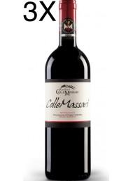 (3 BOTTLES) Castello Collemassari - Montecucco Riserva 2016 - Rosso Riserva DOC - 75cl