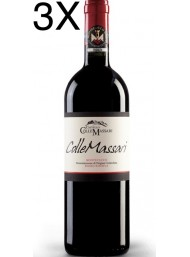 (3 BOTTIGLIE) Castello Collemassari - Montecucco Riserva 2016 - Rosso Riserva DOC - 75cl
