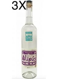 (3 BOTTLES) Alipus - Mezcal - San Baltazar - 70cl