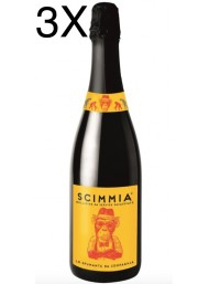 (3 BOTTLES) Scimmia - Spumante Extra Dry - 75cl