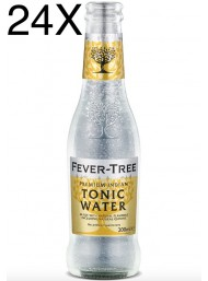 24 BOTTIGLIE - Fever Tree - Premium Indian Tonic Water - Acqua Tonica - 20cl