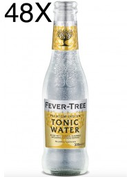 48 BOTTLES - Fever-Tree - Premium Indian Tonic Water - 20cl