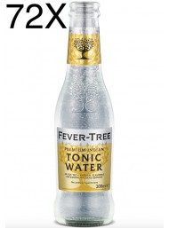 72 BOTTIGLIE - Fever Tree - Premium Indian Tonic Water - Acqua Tonica - 20cl