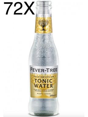 72 BOTTLES - Fever-Tree - Premium Indian Tonic Water - 20cl