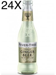 24 BOTTIGLIE - Fever Tree - Ginger Beer - 20cl