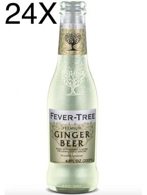 24 BOTTLES - Fever Tree - Ginger Beer - 20cl
