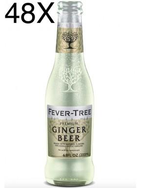 48 BOTTIGLIE - Fever Tree - Ginger Beer - 20cl