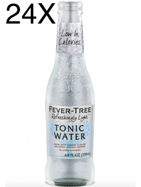 24 BOTTIGLIE - Fever Tree - Refreshingly Light - Naturally Light Tonic Water - Acqua Tonica - 20cl